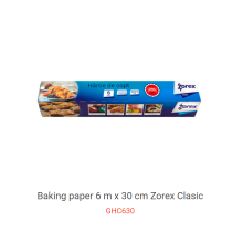 New Products High Temperature Baking Roll Paper