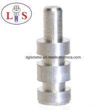 Цена по прейскуранту завода алюминий подвергая механической обработке штыри с ЧПУ в высоком качестве