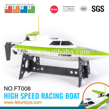 Factory direct price new product small scale ABS 2.4G 4CH high speed rc boat fishing