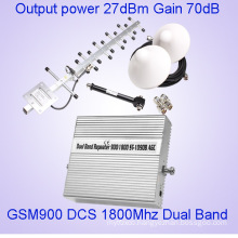 24dBm GSM 900 Dcs1800MHz Dual Band Cell Phone Signal Boosters