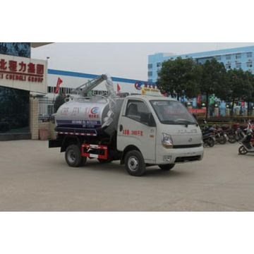 FOLAND Small 3CBM Murah Fecal Suction Truck
