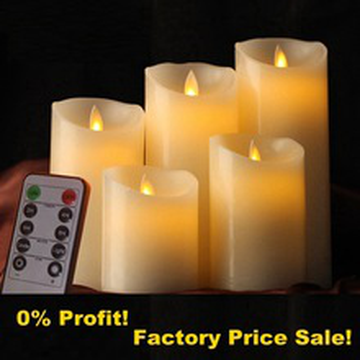 Led Flicker Candle Frankfurt Niemcy