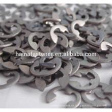 Din6799 m1.5 anillo de acero inoxidable, circlip personalizado DIN471exclinables circulares