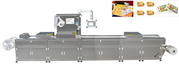 Automatic strech packing amchine
