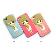 Silicone Case for iPhone5g Girl Case for iPhone5g