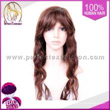 Lace Perücke Körperwelle Natural Looking, hohe Qualität 80% Dichte Remy Perücke