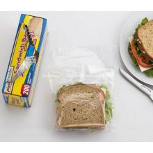 Sac en polyéthylène de livraison de nourriture en plastique
