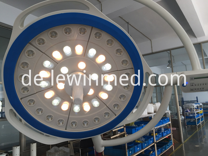 Hospital device surgery round lamp