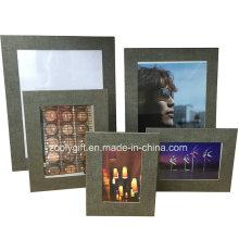 "8,5 x 11 ""texturizados cor papel foto moldura"