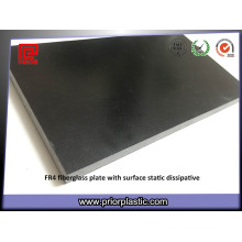 Folha de resina epóxi de material composto de fibra de vidro