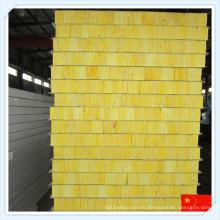 Panel de sándwich de lana de vidrio incombustible de alta calidad para la pared