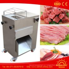 Forno de carne automática congelada quente da máquina de corte da carne do potenciômetro