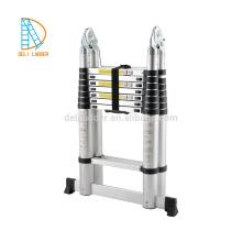 aluminIum double telescopic ladder agility ladder