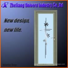 Стеклянные двери с алюминиевой рамой замки