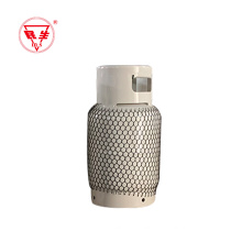 Gas cylinder 8kg with valve used for camping