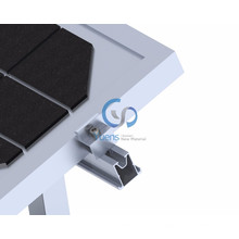 Flat Roof Solar Photovoltaic Mounting Solar Panel Flat Roof Rack