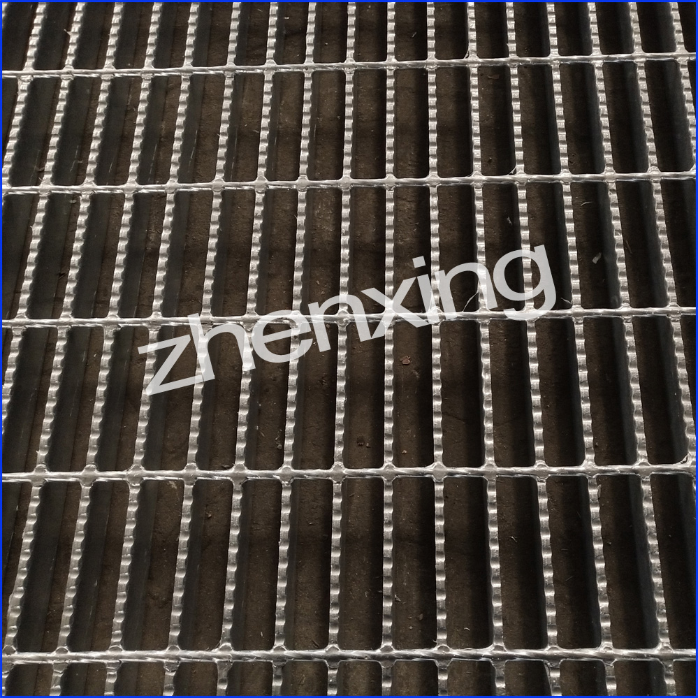 Serrated Bar Grating