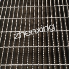 Hot Dip Galvaniserat Serrated Grating