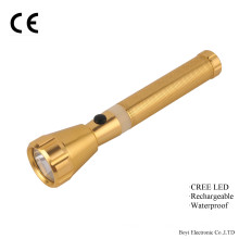 Linterna recargable para uso en caso de emergencia, linterna fácil de transportar