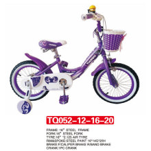 """12 """"modelo más nuevo de color púrpura bebé bicicleta / niños bicicleta"""