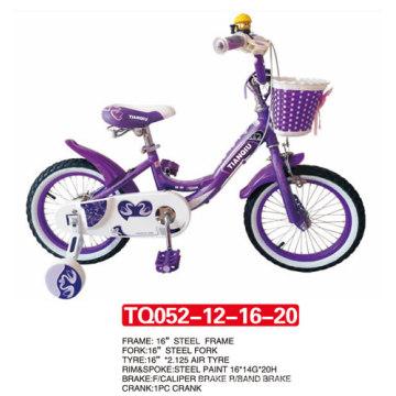 """12 """"o mais novo modelo da bicicleta roxa do bebê da cor / bicicleta das crianças"""