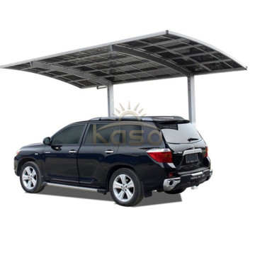 Soild Polycarbonate Carport 2 Car Garage Smoking ly