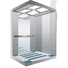 Aksen Mirror Etched Machine Room Passenger Elevator J0309