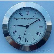 Custom Quartz Small Clock Insert 50mm