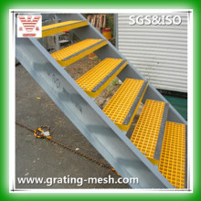 FRP/GRP/ Fiberglass Gratings for Stair Steps