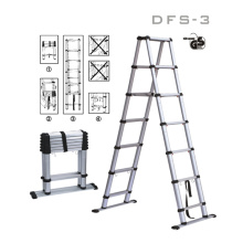 Dff-3 Aluminium-Telesteps GS-Leiter