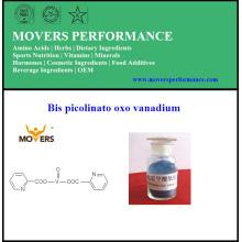 Grille de nourriture de haute qualité minérale Bis Picolinato Oxo Vanadium