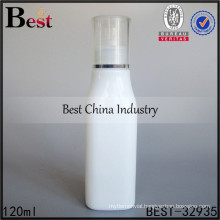 4oz essential oil glass bottle 120ml square shape porcelain shampoo container