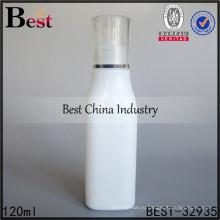 4 унции эфирного масла стеклянная бутылка квадратной формы фарфоровый контейнер шампунь 120мл