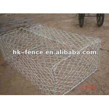 1 colchón de reno de la caja del gabion de la malla del hexágono del PVC