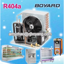 air cooled water chiller with boyard low temperature refrigeration compressor condensing unit