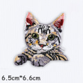 Cute Cat Patches High Quality 3D Embroidery Patch