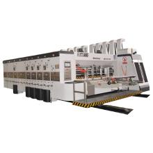 1224 high speed corrugated carton box printing slotting and die cutting machine