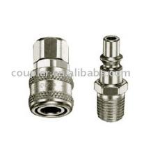 Coupleur rapide en acier pneumatique de type ARO pour l'outil pneumatique