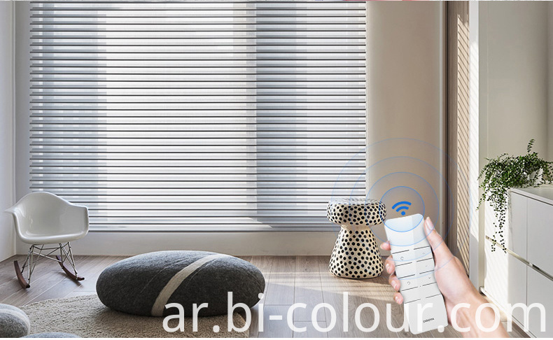 Motorized Window Shangrila Blinds