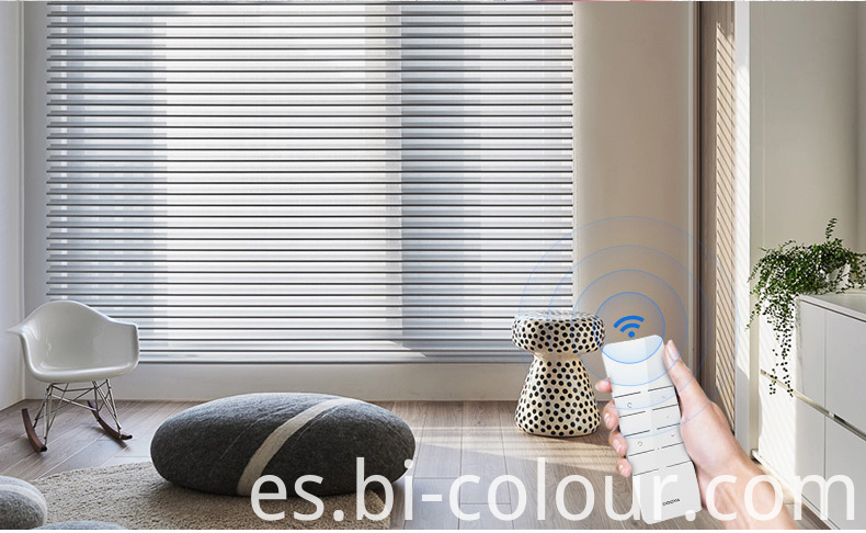 Electric Shangrila Blinds