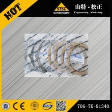 Komatsu pièces PC300-7 swing moteur plaque pelle pièces 706-7K-91340