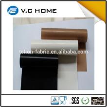 2016 Fabricante ptfe teflon mais vendido pano de tecido de fibra de tecido condutor térmico