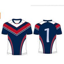 Usure de rugby personnalisée, uniformes de rugby de sublimation, ensemble d'équipe de rugby pas cher