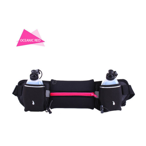Marathon Waist Bag Water Bottle Jogging Holder Outdoor Sport Hiking Running Hydration Belt Waist Pack