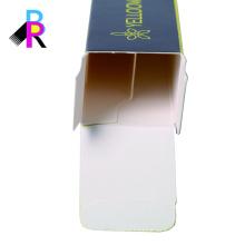 Caja personalizada de diseño de packaging de cartón con alta calidad