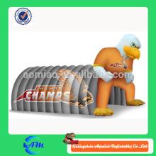 Tienda inflable inflable gigante del túnel de la lona de la alta calidad de la lona del águila inflable para la venta