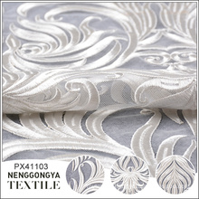 Designer wholesale party tulle french embroidery lace fabric white