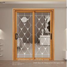 Überlegene Aluminiumschiebetür / Balkonglasschiebetür