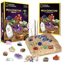 Dig up 15 Real Gems, Stem Science & Educational Toys Make Great Kids Activities Gemstone Dig Kit