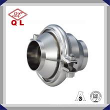 Type d'étanchéité en acier inoxydable sanitaire Soupape à contre-pression sans retour de pression moyenne